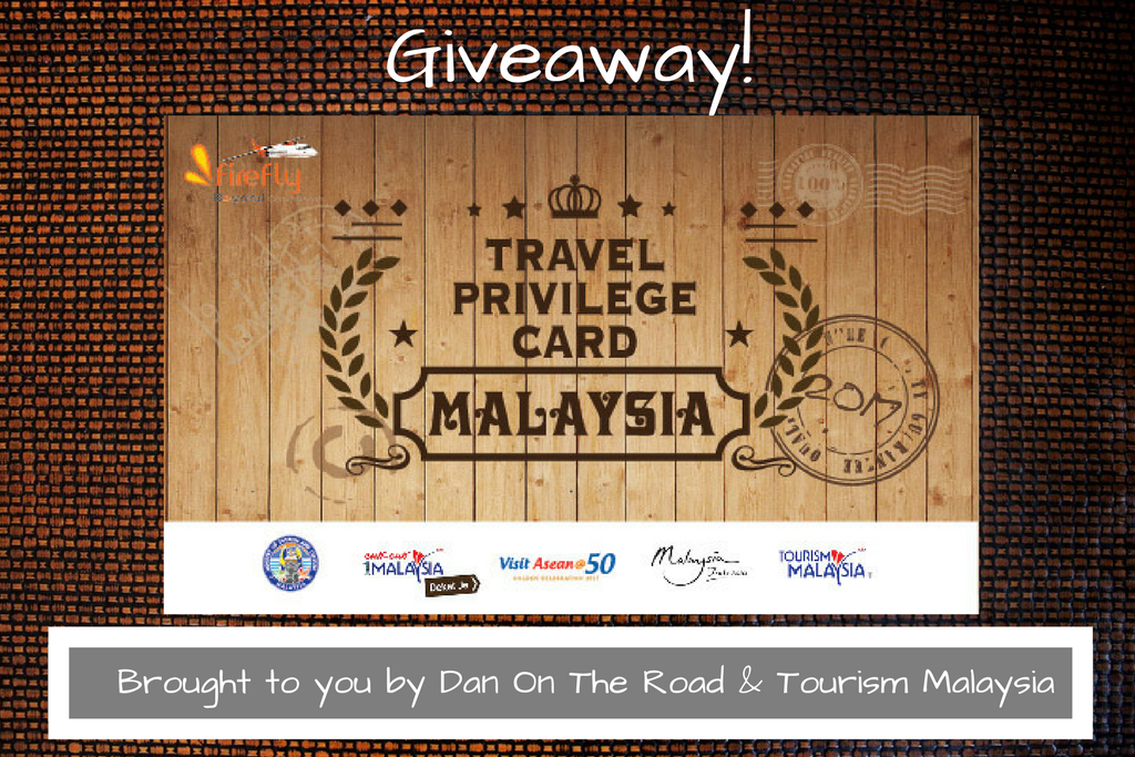Giveaway: Malaysia Travel Privilege Card