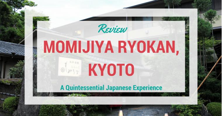Review – Momijiya Ryokan, Kyoto
