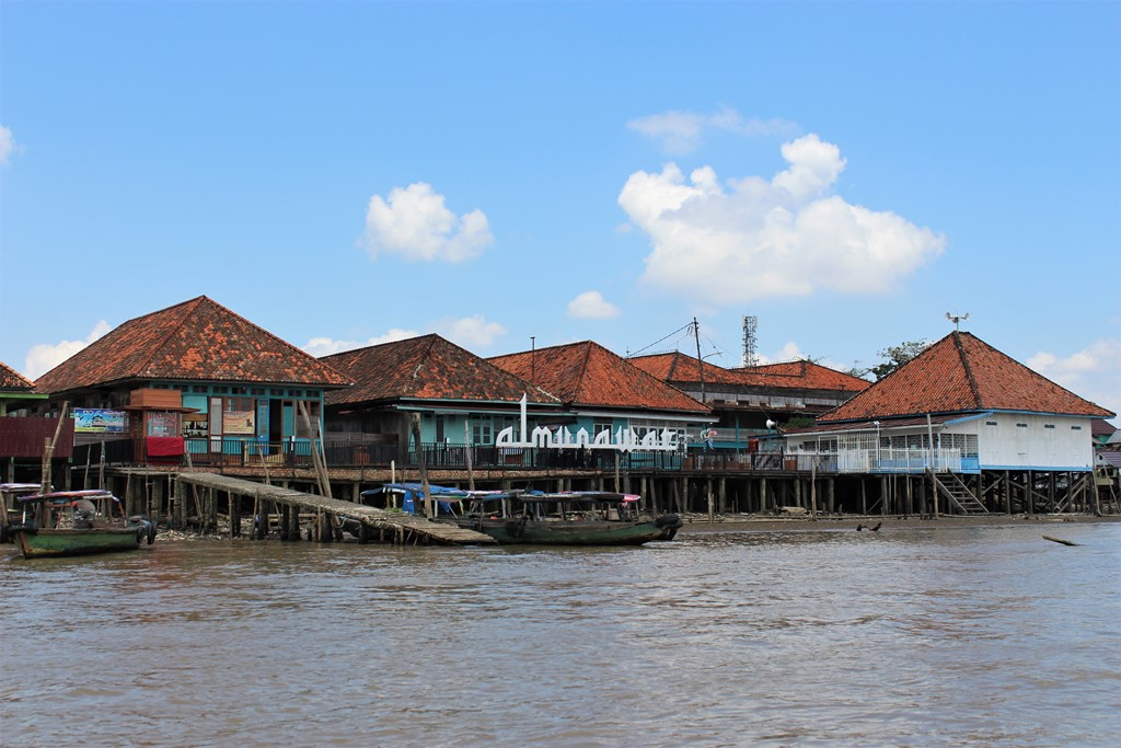 Colorful Kampung Al-Munawar In Palembang